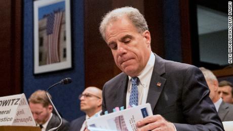 Justice Department watchdog says no political bias in Russia probe, but sharpens FBI rebuke