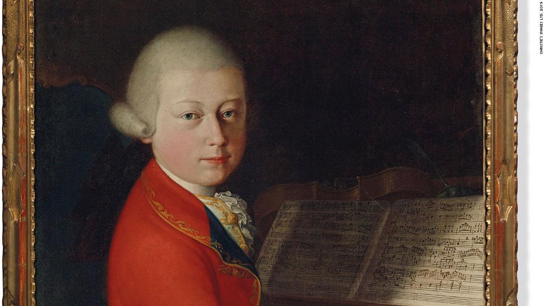 Rare portrait of teenage Mozart could fetch $1.3 million at auction