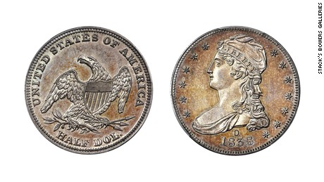 Rare half dollar coin sells for $504,000