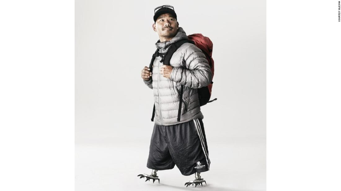 Double amputee Hari Budha Magar aims for an Everest first