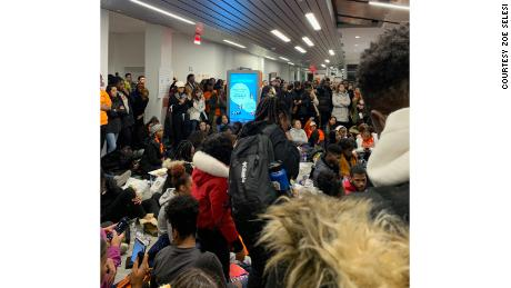 Syracuse students are camped out in a campus building to protest racist incidents