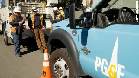 PG&E planning power shutoff event this week