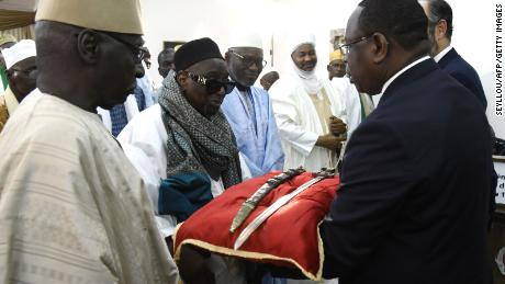 France returns historical sword stolen in the 19th century back to Senegal