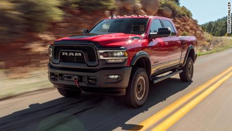 For the second year in a row, the Ram truck receives the MotorTrend Award.