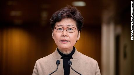 Hong Kong will support removing the ban on Chinese officials
