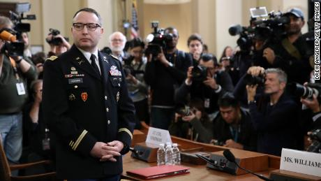 Lt. Col. Vindman, Witness In Trump Impeachment, Is Retiring From Military