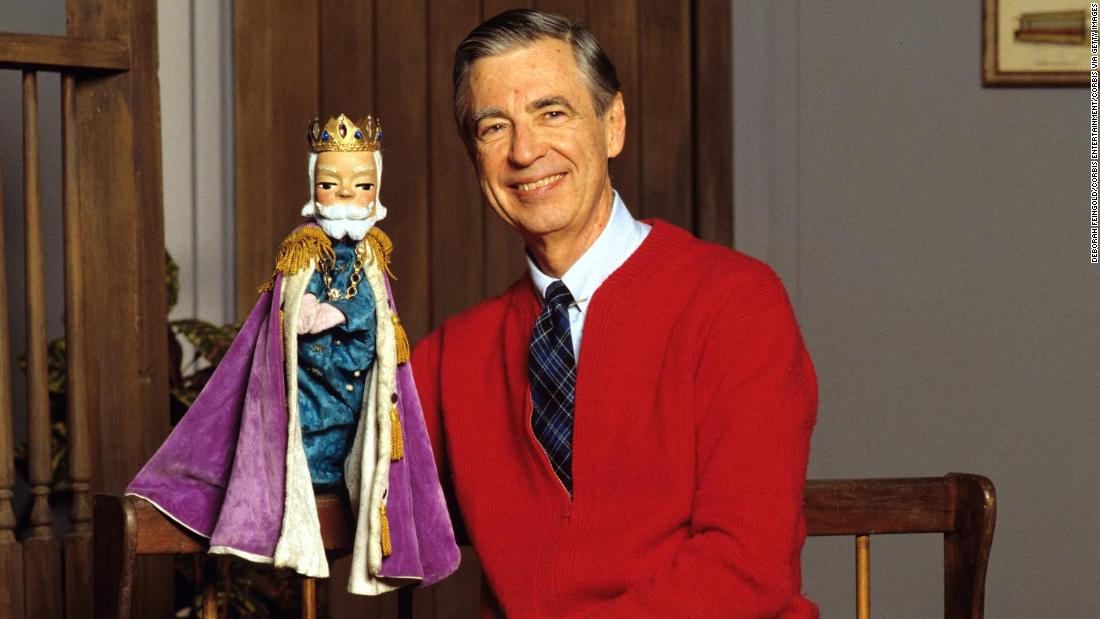 Fred Rogers Famous Cardigans A Look Back Cnn Style
