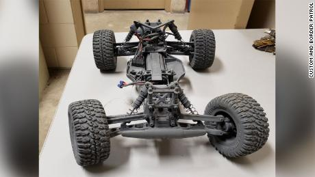 Teen arrested for using a remote-controlled car to smuggle drugs