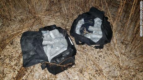 CBP says the teenager found 55.84 pounds of methamphetamine.