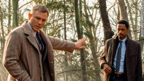 Daniel Craig and LaKeith Stanfield in 'Knives Out'
