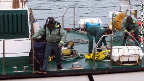 Spain seizes 'narco sub' carrying more than 3 tons of cocaine