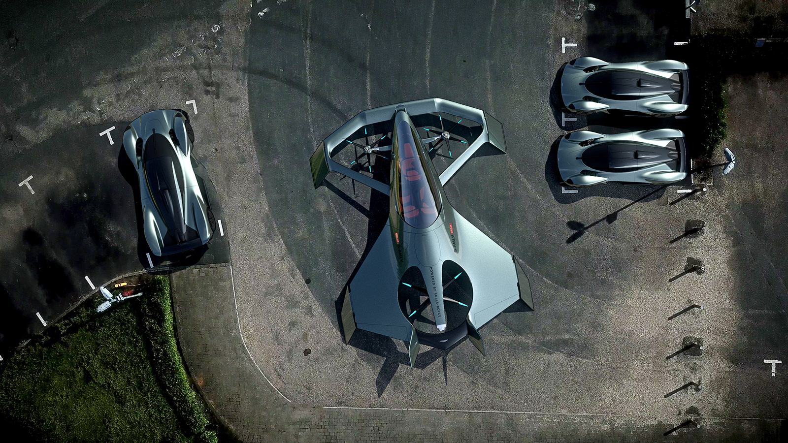 Flying cars Luxury automakers race to create aircraft