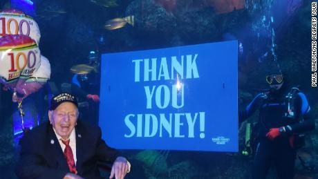 People across the country have honored Sidney Walton in many ways.