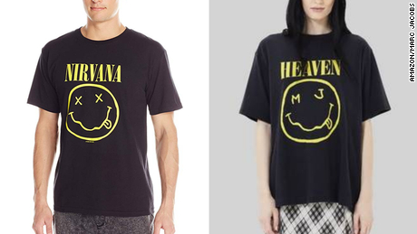 Marc Jacobs countersues Nirvana over 'smiley face' T-shirt design