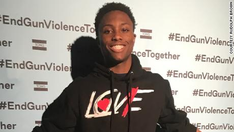 Brown launched an anti-gun violence line of clothing and merchandise called Love1.