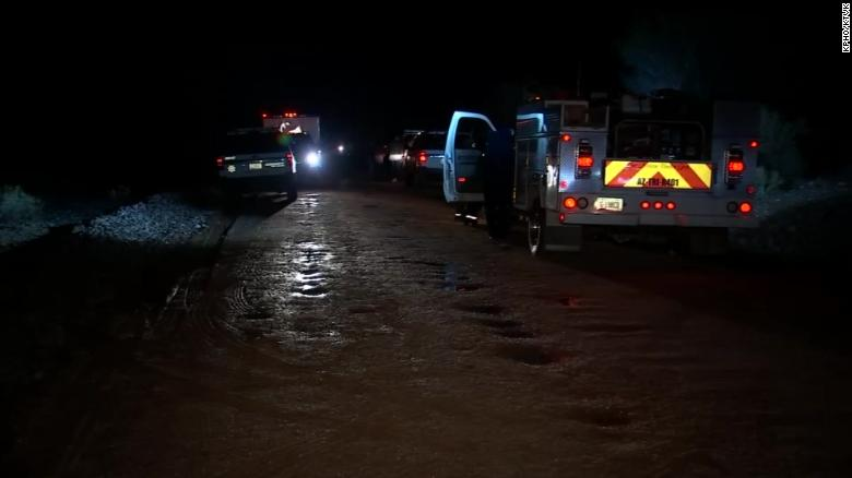 2 children dead, 1 missing after auto swept away by flooding