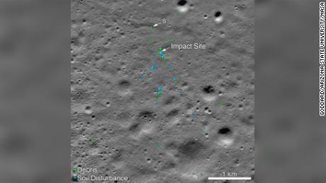 India's Vikram Lander Crash Site Found on Moon