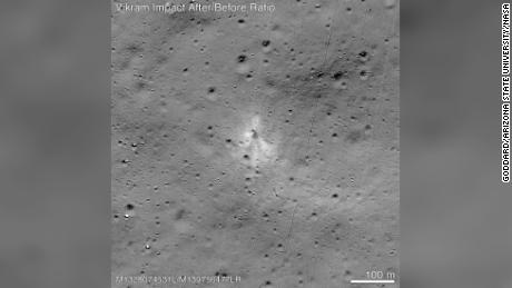 NASA satellite finds crashed Indian Moon lander Vikram