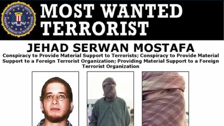 Federal Bureau of Investigation  offering up to $5M for information on whereabouts of alleged terrorist