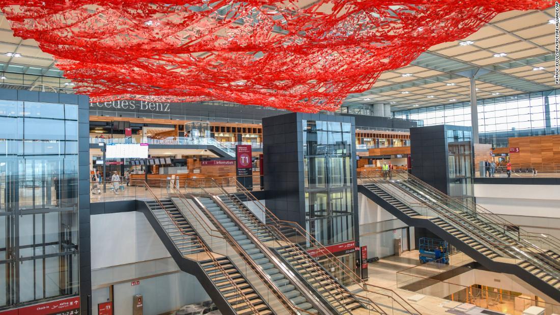 Berlin's 'cursed' Brandenburg Airport finally nears completion