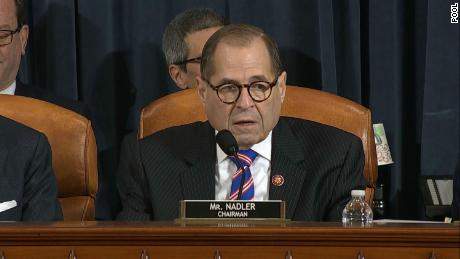 READ: House Judiciary Chairman Jerry Nadler's opening statement for impeachment hearing