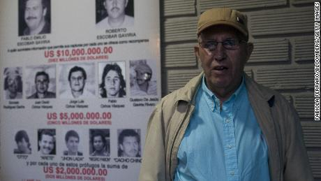 Roberto Escobar, brother of former narcotics kingpinPablo Escobar, runs the investment firm Escobar Inc.