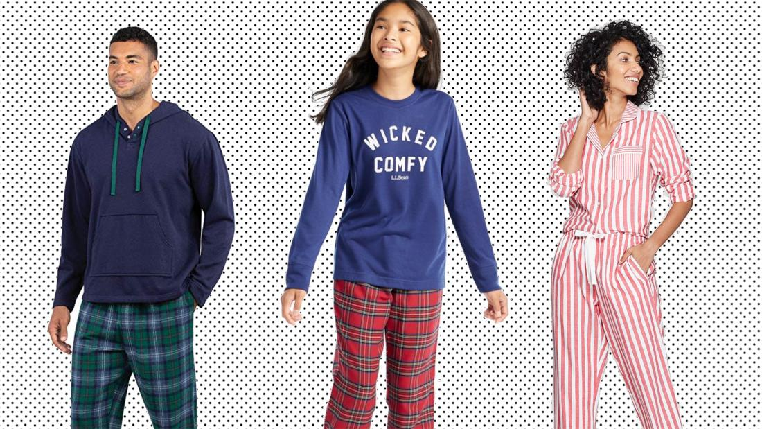 Cozy up this holiday season with pajamas for the whole family