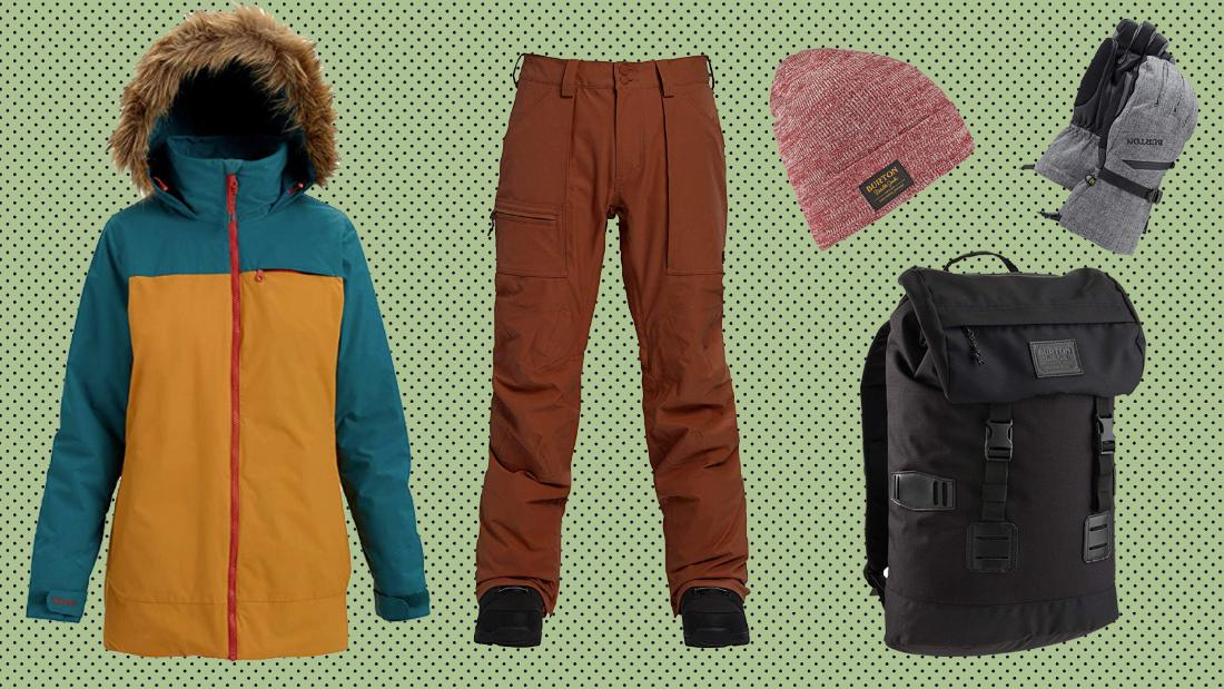 Hit the slopes in gear from Amazon's one-day Burton sale