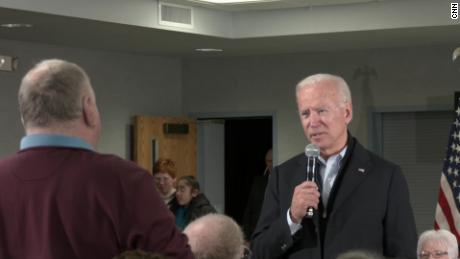 'You're a damn liar': Biden has heated exchange with audience member on Ukraine, his age