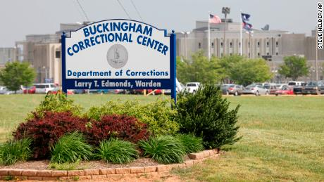 Eight-year-old girl strip-searched before visiting father at Virginia prison