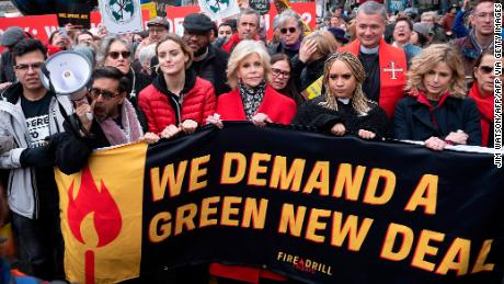 Jane Fonda is on her 10th climate crisis protest so far