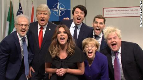 'SNL' cold open: Paul Rudd, James Corden, and Jimmy Fallon roast Trump