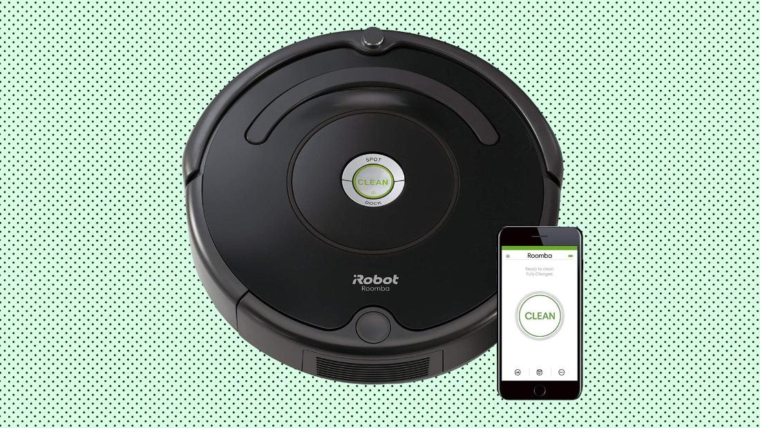 Save on this Wi-Fi connected Roomba today only at Amazon