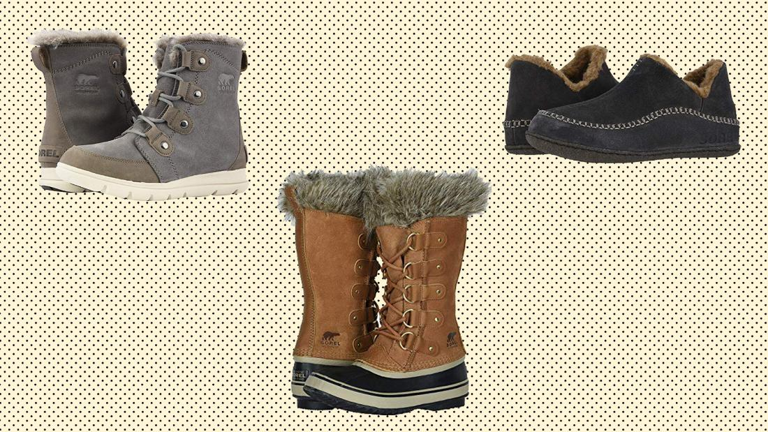 Zappos will give you $20 to spend later if you buy Sorel shoes today