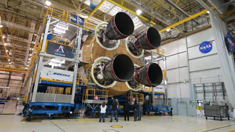 Core Stage Of Next Moon Rocket Now Ready Says NASA