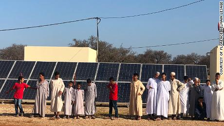 Africa's 'first fully solar-powered village' wants to be a model for a renewable future