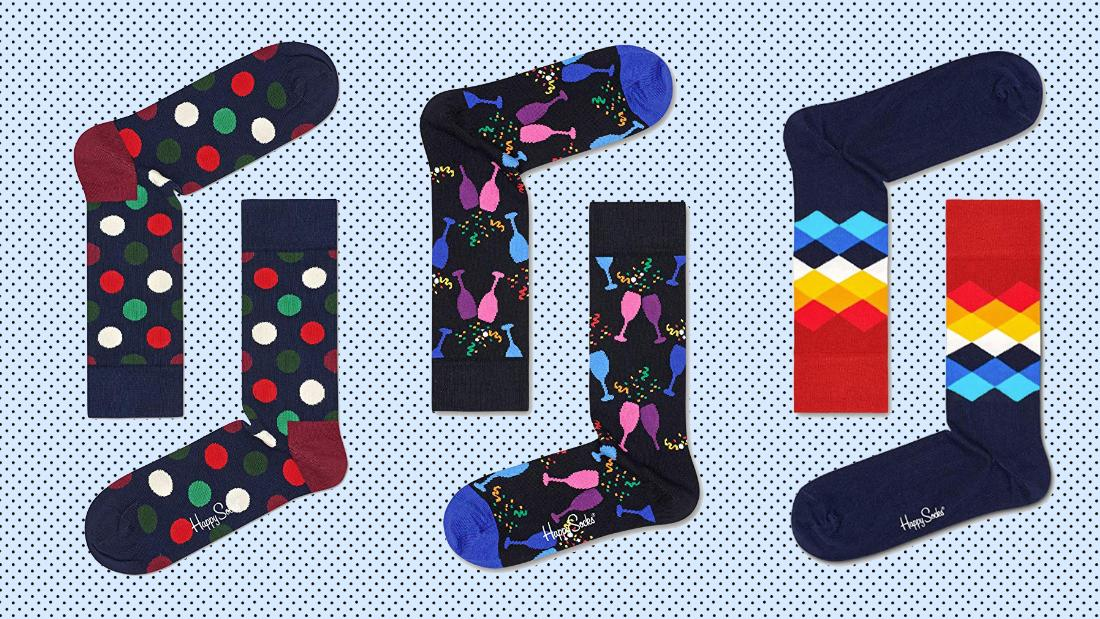 Give the gift of Happy Socks, now on sale at Amazon
