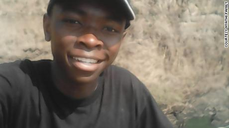 Nkosi Nyathi in Victoria Falls, Zimbabwe.