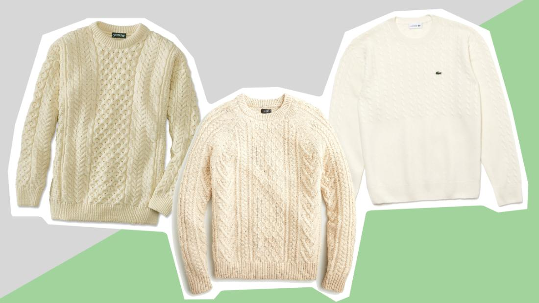 The fisherman's sweater from 'Knives Out' that every guy needs