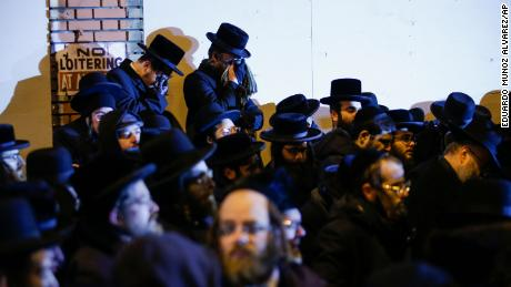 Hasidic community coping with fear and grief