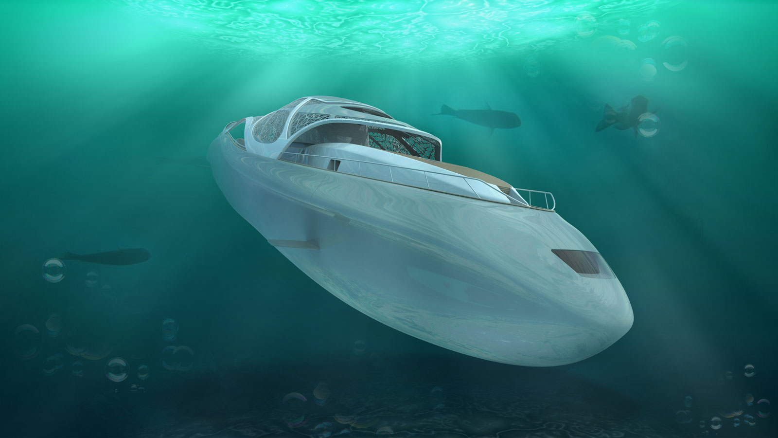 The Luxury Yacht That Turns Into A Submarine The