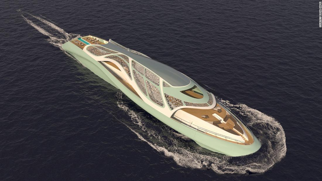 The luxury yacht that turns into a submarine