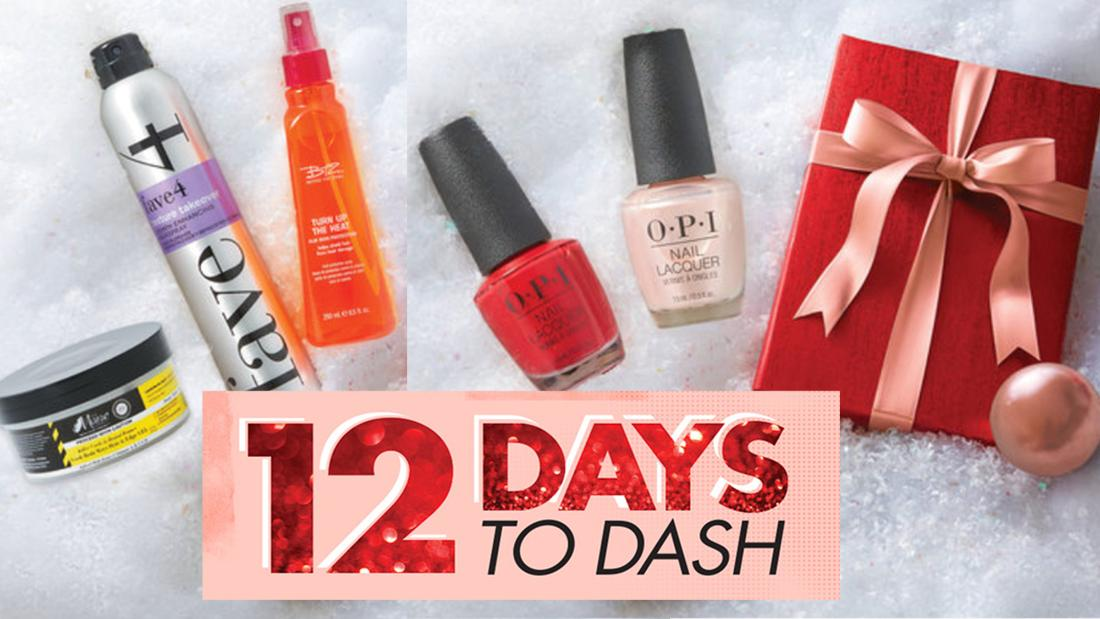 Save up to 50% on beauty and grooming during Sally Beauty's 12 days of deals