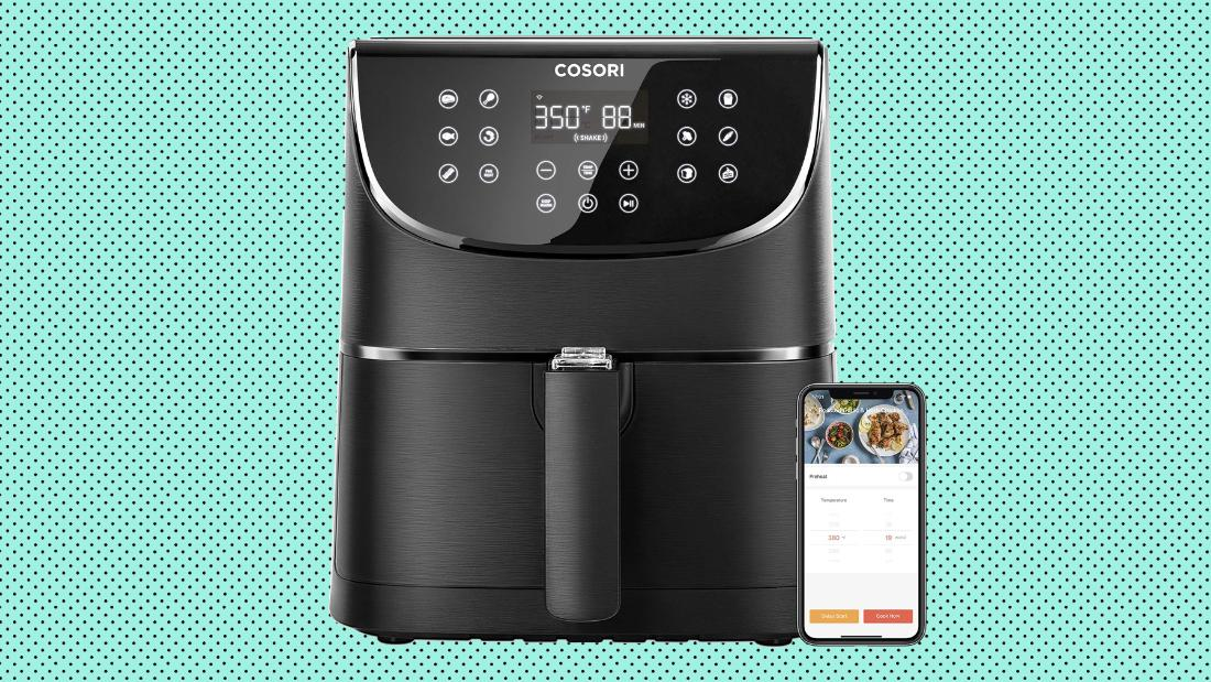 Cosori's Smart Wi-Fi Air Fryer is on sale at Amazon