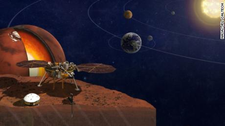 NASA's InSight lander has studied the interior of Mars.