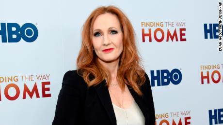 JK Rowling under fire over transgender comments