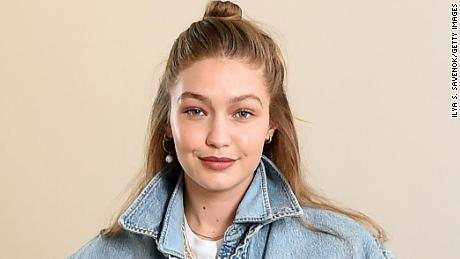 Gigi Hadid attends the WARDROBE.NYC launch of the Release 04 DENIM & Levi's collaboration in New York City, July 17, 2019.