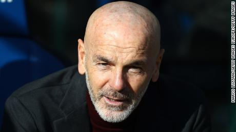 Stefano Pioli took charge of Milan in October.