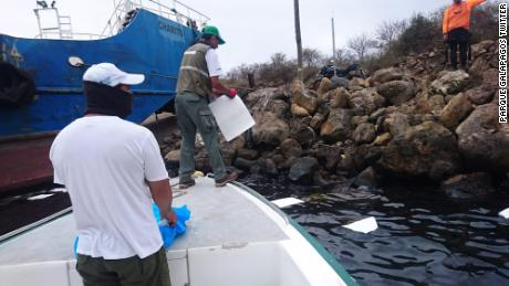 Barge Sinks, Causing Massive Oil Spill in Galapagos Islands