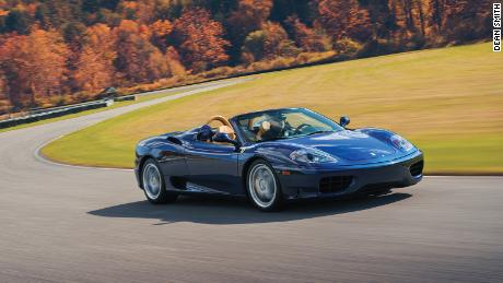 More than half of the aluminum-bodied Ferrari 360s sold were convertibles.